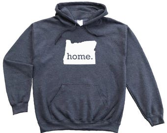Homeland Tees Oregon Home Pullover Hoodie Sweatshirt