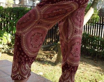 SM00 Gypsy Pants Rayon Pants,Aladdin Pants Maxi Pants Boho Pants