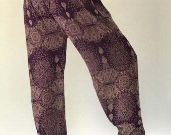 SM0085 Genie Pants Comfy Trouser, Gypsy Pants Rayon Pants,Aladdin Pants Maxi Pants Boho Pants