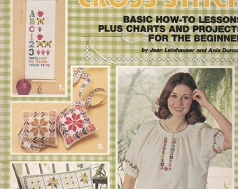 First Steps in Counted Cross Stitch  American School of Needlework