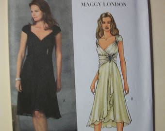 Butterick B4657 Misses Size AA 6-8-10-12 dress.  Maggy London
