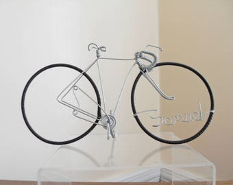 Wire Bicycle Cake Topper