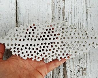 Pierced Leaf Home Decor Jewelry Tray