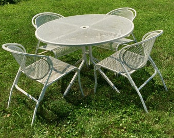 Metal mesh chairs Etsy