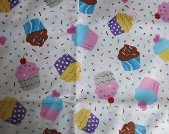 motives cupcakes fabric