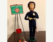 Vintage Collectible Byers' Choice Caroler - The Salvation Army Man - Byers' 1993 - Byers' Carolers - Collectible Byers' Choice