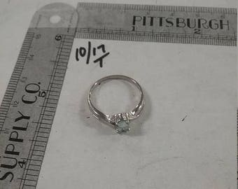 10% OFF 3 day sale Used sterling silver .925 ring. Size 7  2.1 grams