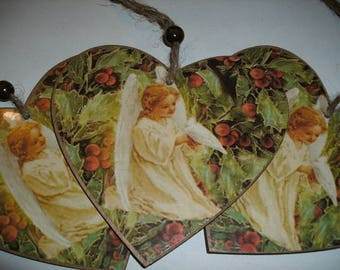 Heart with Angel, 1 piece (178)