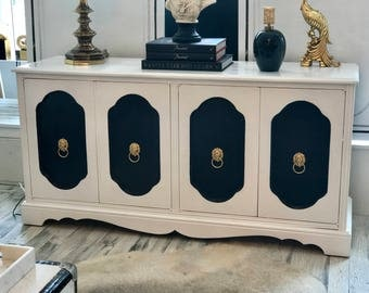 French Pop Style Cabinet