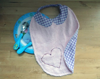 Claudine collar, to put on only one bib