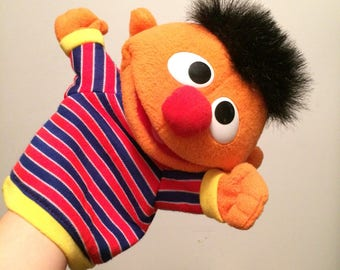 Vintage Ernie puppet from Sesame street