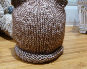 Brown Bear Baby Hat - 1833