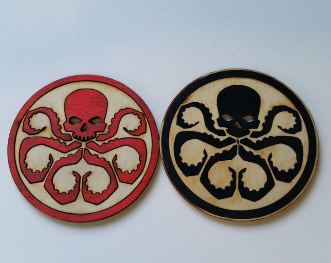 Marvel's Hydra Inspired Coaster Set