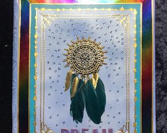 Dream Catcher journal .