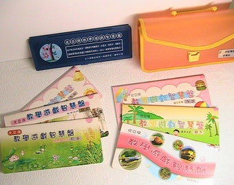 Chinese School Learning Book Set