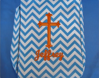 Monogrammed Bible Case, Bible Cover, Bible Case, First Communion Gift, Confirmation Gift, Personalized Bible Case, Personalized Bible Cover