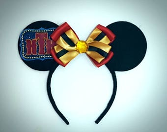Hollywood Hotel Tower of Terror inspired Minnie Mouse Ears Headband