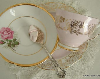 Beautiful MisMatched Tea Set Trio A Very Pretty Perfect For Special Occasion Wedding