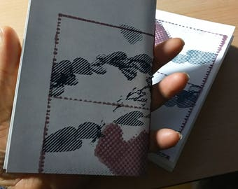 Set of screen printed sketchbooks, A6