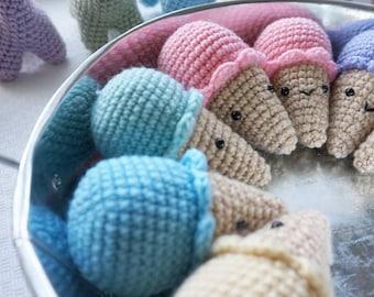 Cute Mini Crochet Amigurumi Ice Cream Cone