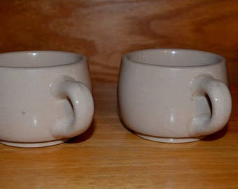 A Pair Of Wallace China Coffee Cups