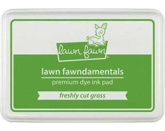 Lawn Fawn Dye Ink Pad - Cut Grass - Stamping, Ink Pad, Stamp Pad