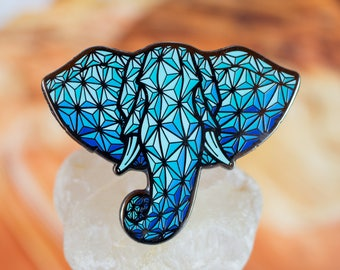 ELEPHRACTAL Hat PINS!!! A Limited Edition ELEPHANT Collectible!