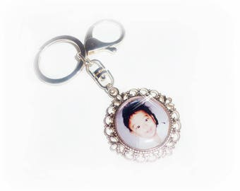 Puchi/bag pendant with photo