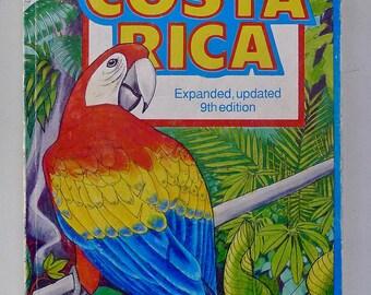 Vintage best guidebook to Costa Rica