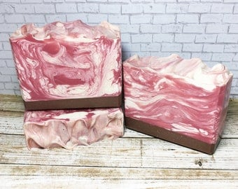 Pink Sands Type, Handmade Soap, Cold Process Soap, Bar Soap, Artisan Soap
