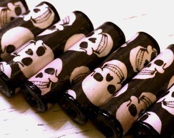Skull Paper Beads