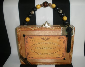 Ouija Board Cigar Box Purse, Cigar Box Handbag, Authentic, Tampa