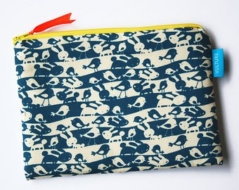 Cosmetic Bag - Zipper Pouch - Purse - Gift for Her