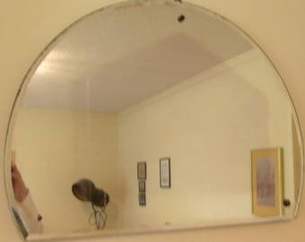 Half Moon Mirror circa 20's