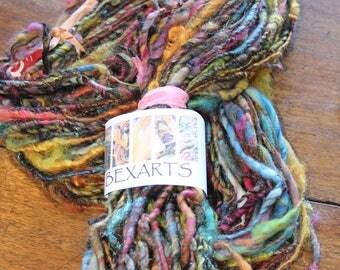 Hand Spun Textured Art Yarn #80