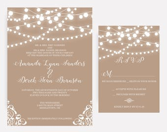 wedding invitations | etsy ca, Wedding invitations
