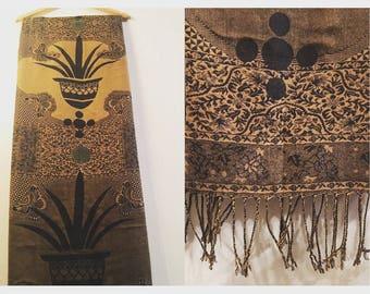 Gold Palma Pashmina