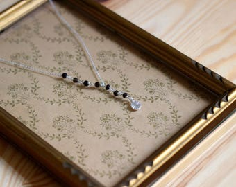 STAN necklace Silver 925 and Topaz stone
