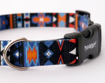 """Dog Collar Sorry Winnetou  2.5 cm 1""""  wide, Pet accessories Psiakrew Colorful Pet collars for medium and large dogs"""