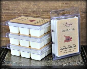 SANDALWOOD & PATCHOULI | Wax Melt Tart | Sassy Kandle Co.