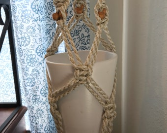 Macrame double plant hanger *pots NOT included*