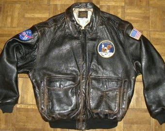 Avirex bomber jacket | Etsy