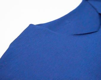 sleeveless  tshirt in organic cotton