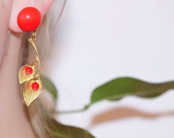 Lengthh Nature earrings