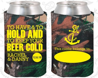 Camouflage Wedding, Camouflage Can Coolers, Camouflage Wedding Favors, Camouflage Wedding Gift, Camouflage Party Decorations (99)