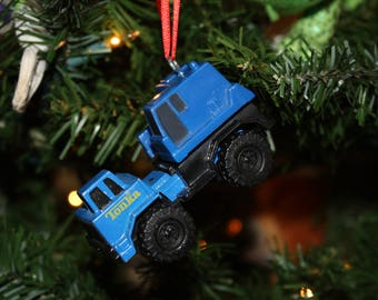 Upcycled Toy Ornament- Tonka Truck