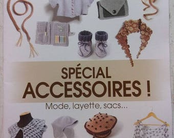 Easy crochet designs catalogue special accessories, baby bags No. 12