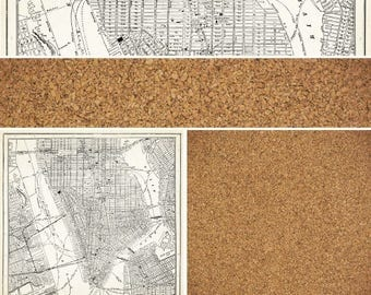 """Crate Paper Story Teller Collection, """"Archives"""" 12X12 Double-Sided Sheet, Street Map 12X12 Paper"""