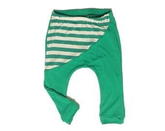 harem pants, baby leggings, toddler leggings, little boys leggings, Hipster toddler, Hipster baby boy clothes, baby boy clothes,strip harems