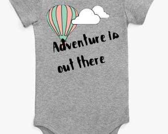 Adventure Is Out There Onesie/Shirt